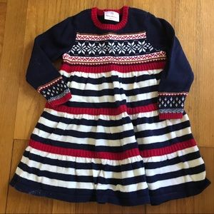 Hanna Andersson sweater dress size 90